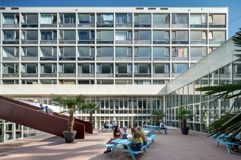 ROC TOP studentenwoningen Oslofjordweg Amsterdam