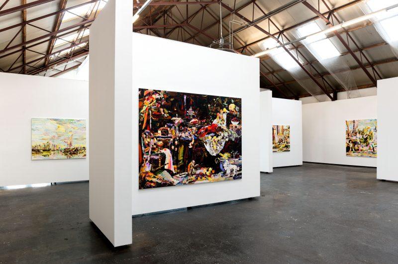 Hidenori Mitsue | New Paintings