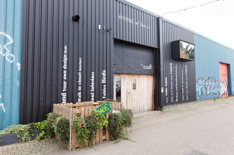 Bedrijfsloodsen NDSM, Woodies