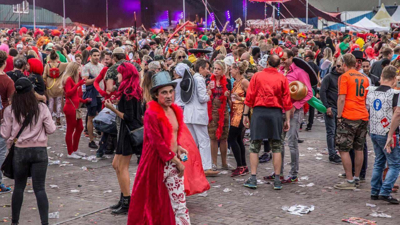 Valtifest Festival NDSM terrein met thema Fire