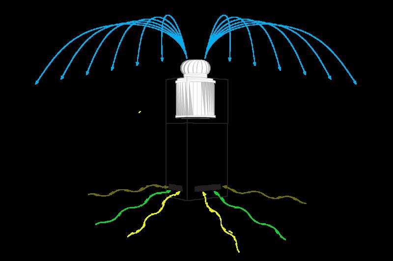 Public Air Filters - schematisch